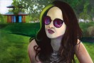 Sunday Afternoon in Victoria Park acrylic and oil on canvas 125 cm x 85 cm