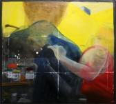 Claustrophobia acrylic and oil on canvas 51 cm x 46 cm